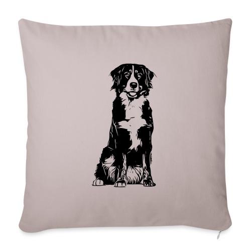 Berner Sennenhund Hunde Design Geschenkidee - Sofakissenbezug 44 x 44 cm