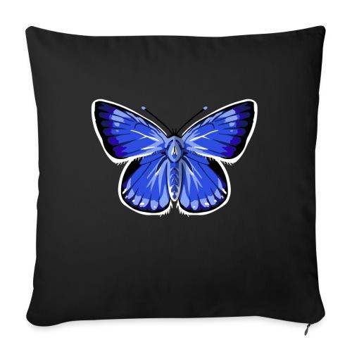 vlinder2_d - Sierkussenhoes, 45 x 45 cm