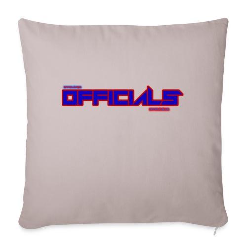 officials - Sofa pillowcase 17,3'' x 17,3'' (45 x 45 cm)