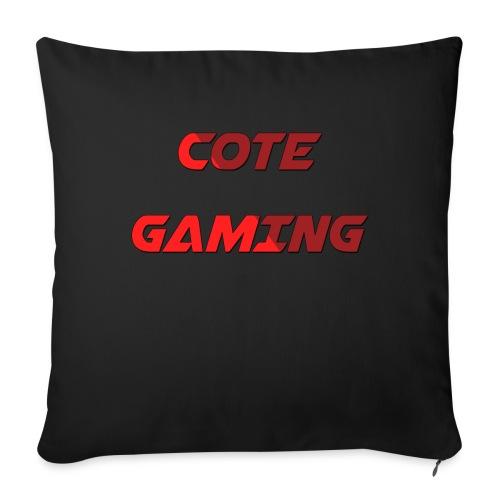 Cote Sweater Rode Letters - Sofa pillowcase 17,3'' x 17,3'' (45 x 45 cm)