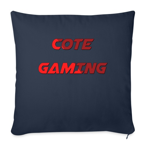 Cote Sweater Rode Letters - Sofa pillowcase 17,3'' x 17,3'' (45 x 45 cm)