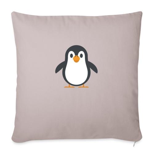Pinguin - Sofakissenbezug 44 x 44 cm