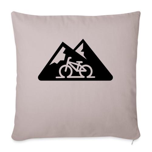 mountainbike - Sierkussenhoes, 45 x 45 cm