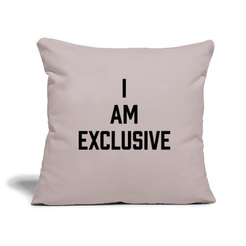 I am Exclusive - Sofakissenbezug 44 x 44 cm
