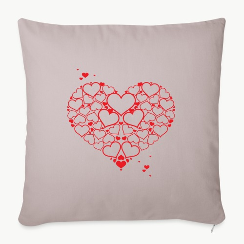 Love.❣️ - Housse de coussin décorative 45x 45cm