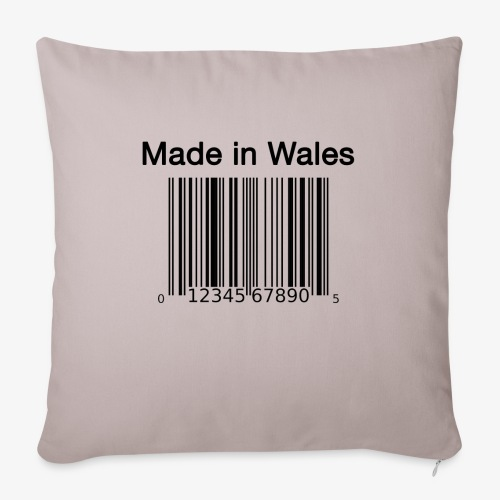 Made in Wales - Sofa pillowcase 17,3'' x 17,3'' (45 x 45 cm)