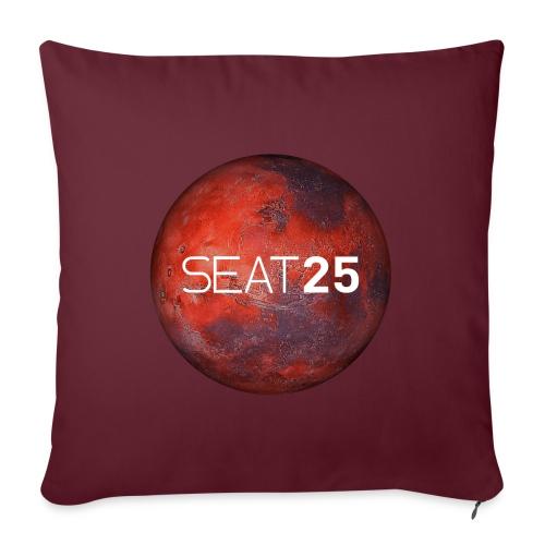 Mars and Logo - Sofa pillowcase 17,3'' x 17,3'' (45 x 45 cm)