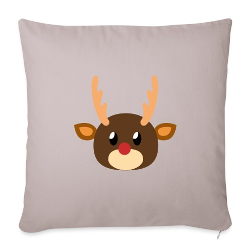 Rentier »Rudy« - Sofa pillowcase 17,3'' x 17,3'' (45 x 45 cm)