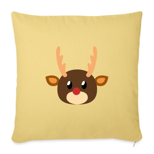 Rentier »Rudy« - Sofa pillowcase 17,3'' x 17,3'' (45 x 45 cm)