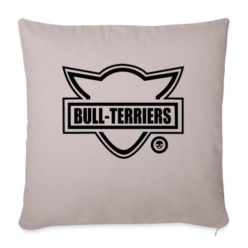 Bull Terrier Original Logo - Sofa pillowcase 17,3'' x 17,3'' (45 x 45 cm)