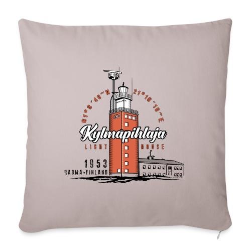 Finnish Lighthouse KYLMÄPIHLAJA Textiles, and Gift - Sohvatyynyn päällinen 45 x 45 cm