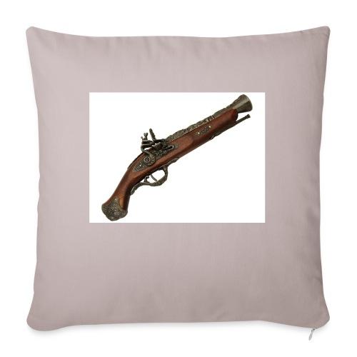 Pistola - Funda de cojín, 45 x 45 cm