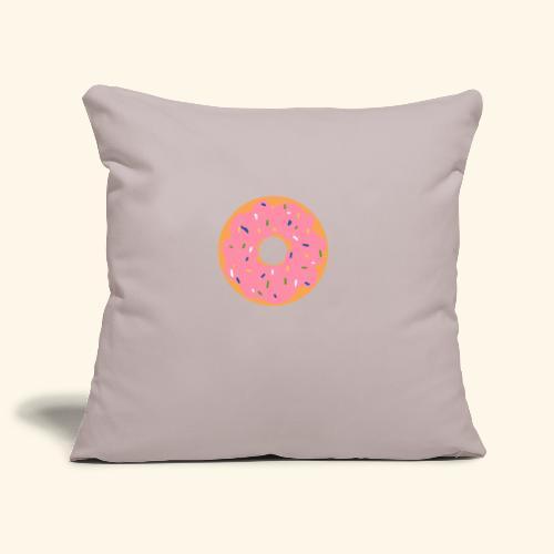 Donut-Shirt - Sofakissenbezug 44 x 44 cm