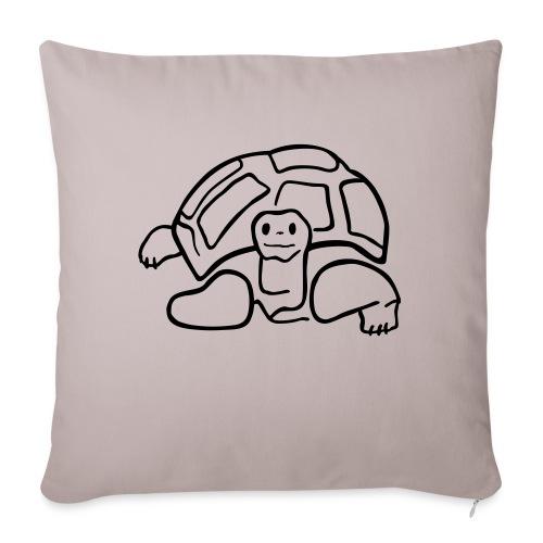schildkröte landschildkroete aus den seychellen - Sofakissenbezug 44 x 44 cm