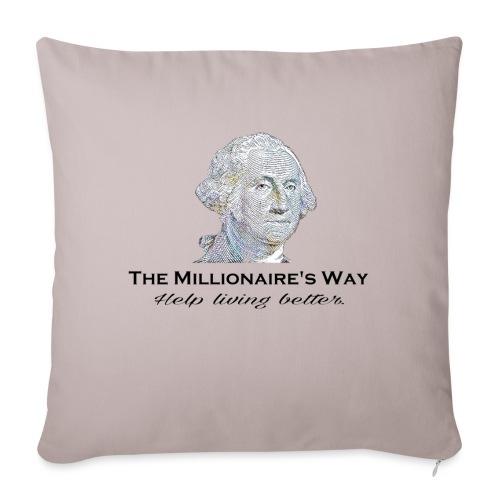 Il nostro logo - Copricuscino per divano, 45 x 45 cm