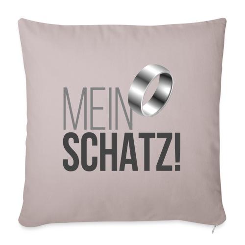 Mein Schatz! - Sofakissenbezug 44 x 44 cm