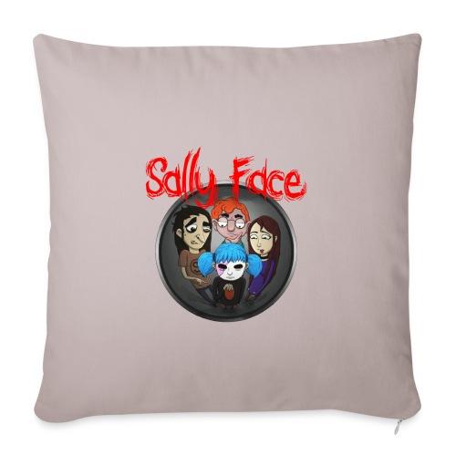 Sally Face merch - Sofa pillowcase 17,3'' x 17,3'' (45 x 45 cm)