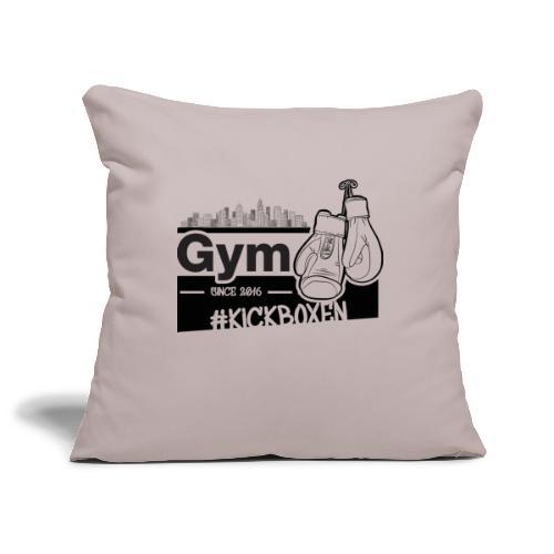 Gym in Druckfarbe schwarz - Sofakissenbezug 44 x 44 cm