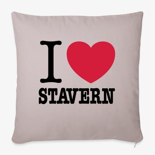 I Love Stavern - Sofaputetrekk 45 x 45 cm