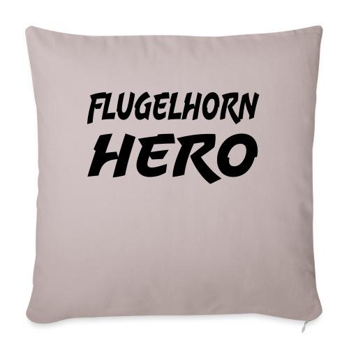 Flugelhorn Hero - Sofa pillowcase 17,3'' x 17,3'' (45 x 45 cm)