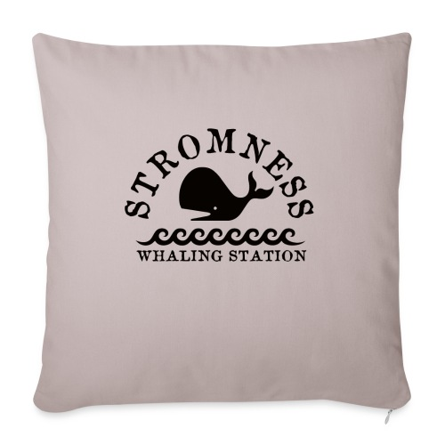 Sromness Whaling Station - Sofa pillowcase 17,3'' x 17,3'' (45 x 45 cm)