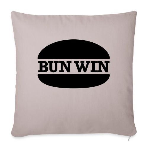 bunwinblack - Sofa pillowcase 17,3'' x 17,3'' (45 x 45 cm)