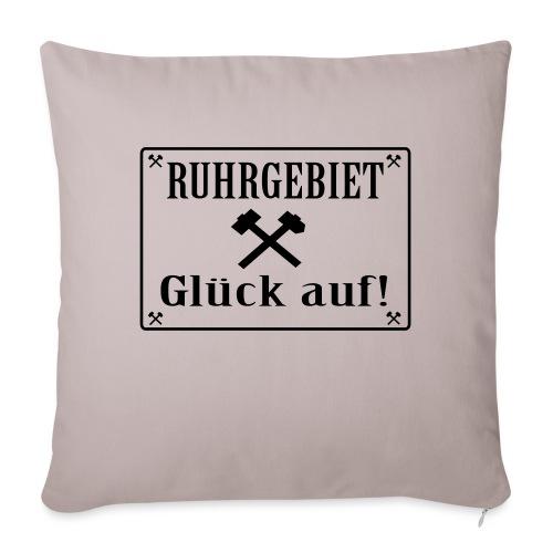 Glück auf! Ruhrgebiet - Sofakissenbezug 44 x 44 cm