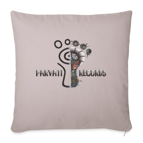 Steampunk logo by Luisa Fachini - Sofa pillowcase 17,3'' x 17,3'' (45 x 45 cm)