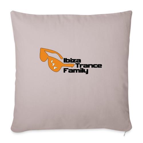 ITF thin outline v2 png - Sofa pillowcase 17,3'' x 17,3'' (45 x 45 cm)