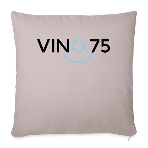 VINO75 - Copricuscino per divano, 45 x 45 cm