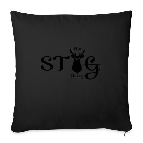 THE STAG PARTY - Sofa pillowcase 17,3'' x 17,3'' (45 x 45 cm)