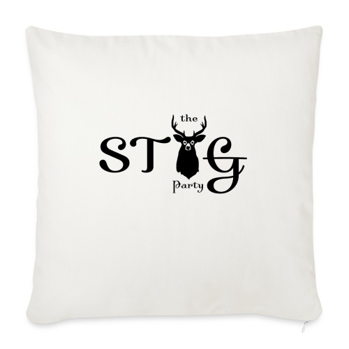 THE STAG PARTY - Sofa pillowcase 17,3'' x 17,3'' (45 x 45 cm)