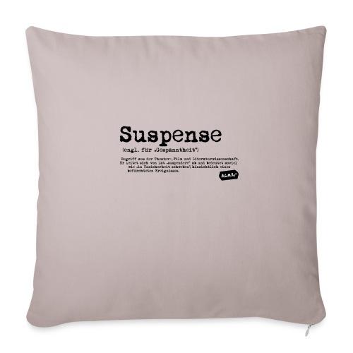 Suspense - Sofakissenbezug 44 x 44 cm