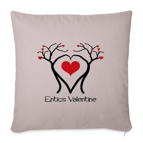 Saint Valentin des Ents - Housse de coussin décorative 45x 45cm
