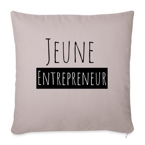 Jeune Entrepreneur - Housse de coussin décorative 45x 45cm