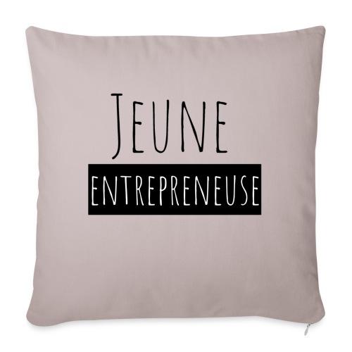 Jeune Entrepreneuse - Housse de coussin décorative 45x 45cm