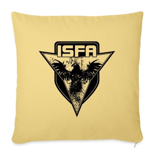 isfa logo 1c schwarz - Sofakissenbezug 44 x 44 cm