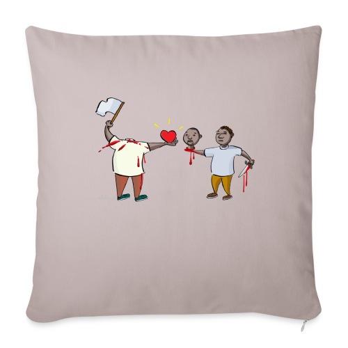 Forgiveness - Sofa pillowcase 17,3'' x 17,3'' (45 x 45 cm)