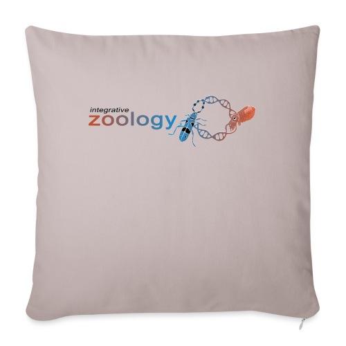 Integrative Zoology Department Logo (bright) - Sofa pillowcase 17,3'' x 17,3'' (45 x 45 cm)
