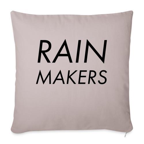 rainmakertext - Sohvatyynyn päällinen 45 x 45 cm