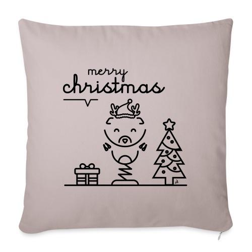 Noël reindeer 2 - Housse de coussin décorative 45x 45cm