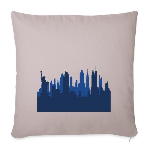 Manhattan Skyline - Housse de coussin décorative 45x 45cm