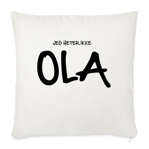 Jeg heter ikke Ola (fra Det norske plagg) - Sofaputetrekk 45 x 45 cm