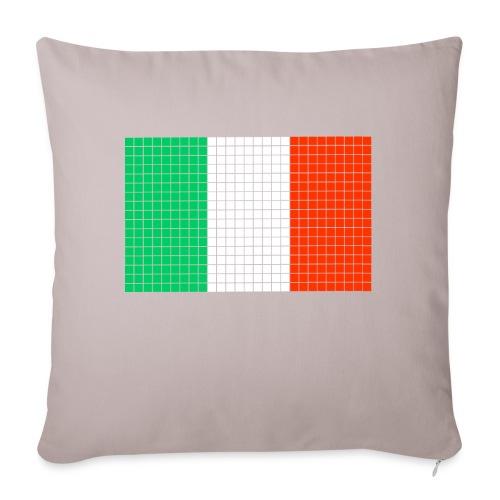 italian flag - Copricuscino per divano, 45 x 45 cm