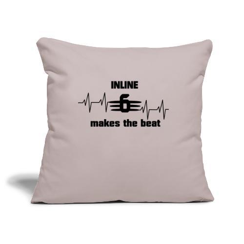 6 big heartbeat text4 - Sofakissenbezug 44 x 44 cm