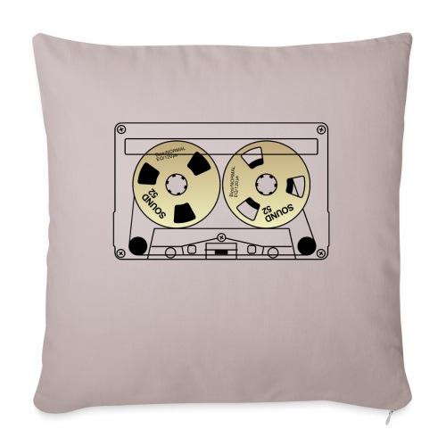 TEAC SOUND 52 - Sofa pillowcase 17,3'' x 17,3'' (45 x 45 cm)