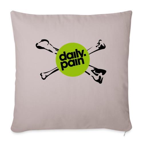 daily pain cho kark - Poszewka na poduszkę 45 x 45 cm