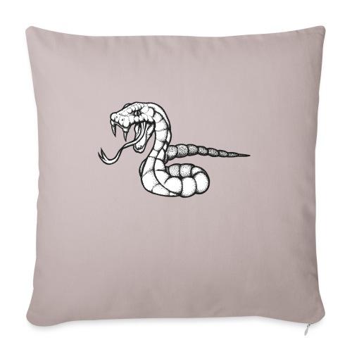 Design Serpent Comics - Housse de coussin décorative 45x 45cm