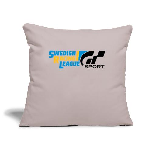 Swedish Racing League GT Sport svart - Soffkuddsöverdrag, 45 x 45 cm