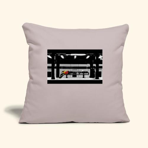 Riposo a Broadway - Copricuscino per divano, 45 x 45 cm